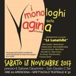 I monologhi della vagina sabato a San Giusto