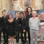 I vincitori delle borse di studio del Corso Internazionale di Musica Antica