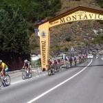 Il Giro Ciclistico della Valle dAosta in Canavese