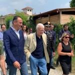 Il Presidente Cirio visita la villa di San Giusto confiscata alla mafia 1