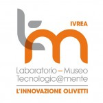 Il nome Olivetti nel logo del  Museo Tecnologic@mente