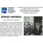 Il ricordo del Maestro Sergio Vironda
