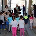 In Comune a Volpiano, una piccola galleria d'arte con le opere dei bambini