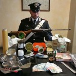 In casa il laboratorio della droga. Arrestato 18enne di Feletto