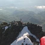 In salvo i due alpinisti in difficoltà sul Monviso