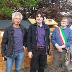 Inaugurato a Vialfrè lo chalet del compostaggio