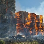 Incendio a Font Canavese