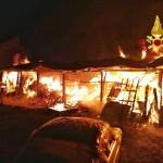 Incendio a Sant'Antonino di Susa 1