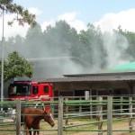 Incendio alla Rolanda Quarter Horses