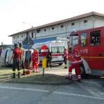 Incidente stradale ancora alla Vittoria, sulla ex 460