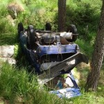Incidente tra Locana e Rosone