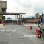 Iniziati i lavori di rifacimento della salita e del piazzale dell'ospedale di Ivrea 1