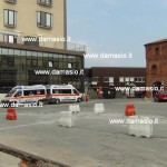 Iniziati i lavori di rifacimento della salita e del piazzale dell'ospedale di Ivrea