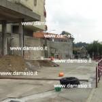 Iniziati i lavori di rifacimento della salita e del piazzale dell'ospedale di Ivrea 2