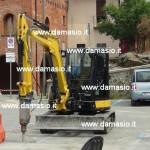 Iniziati i lavori di rifacimento della salita e del piazzale dell'ospedale di Ivrea 3