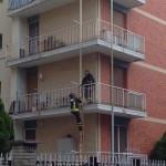 Intervento dei Vigili del Fuoco a Rivarolo