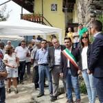 L'assessore Regionale Poggi a Ingria per l'inaugurazione del bivacco in località Bech