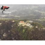 L'incendio al Sacro Monte di Belmonte sopraluogo aereo