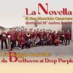 La Filarmonica La Novella di San Maurizio Canavese in concerto a Rivarolo