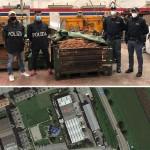 La Polizia recupera una tonnellata e mezzo di rame a Rondissone, denunciate 4 persone