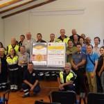 La Protezione Civile Canavesana per i terremotati