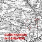 La mappa del contagio del Coronavirus in Canavese