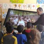 La mostra sulla Grande Guerra allestita dal centro studi «Piemonte Storia» nelle scuole elementari di Forno Canavese