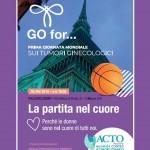 La partita nel cuore per la Prima Giornata Mondiale sui Tumori Ginecologici