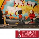 La storia di don Bosco diventa street art a Valdocco