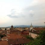 Lavori in piazza Mazzini a Volpiano