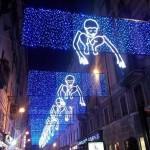 Le Luci d'Artista illuminano Torino Valerio Berruti