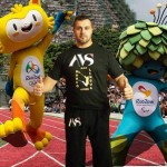 Marco Lingua alle Olimpiadi di Rio