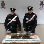 Market di hashish e marijuana in casa, arrestato a Banchette giovane insospettabile