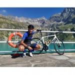 Mattia Barlocco. da Locana a Locana attraverso l'Italia in bicicletta