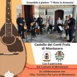 Musica d'estate sabato 10 luglio al Castello di Montanaro