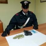 Nello zaino 20 grammi di marijuana