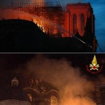 Notre Dame e l'incendio del Domo di Torino