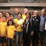 Nuovi spogliatoi al Palazzetto dello Sport di Caluso