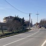 Nuovo marciapiede  in via Casale, a Castelrosso (Chivasso)