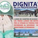 NurSind Piemonte ancora in piazza Vogliamo rivedere le nostre condizioni di lavoro