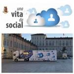 """Oggi Torino in Piazza Castello """"Una vita da social"""" 1"""
