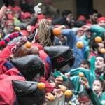 Oggi ultima battaglia delle arance