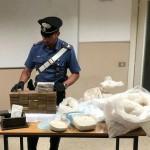 Operazione Stones Express 6 arresti e 20 kg. di droga sequestrata