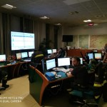 Operazioni di bonifica all'incendio nella zona di Belmonte