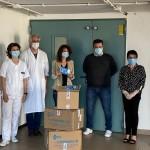 Paola Gianotti consegna 4.500 mascherine all'ospedale di Ivrea