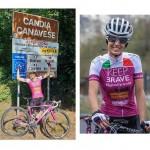 Paola Gianotti fa il Giro del Piemonte per la sicurezza in bici
