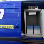 Poste Italiane consegna a Ivrea il vaccino Astra-Zeneca