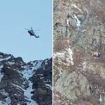 Precipita in montagna muore un tecnico del Soccorso Alpino