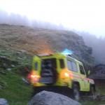 Precipita in un dirupo muore un pastore presso l'Alpe Arietta 1