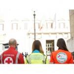 Presidio Anpas, Croce Rossa Italiana e Misericordie davanti a Montecitorio